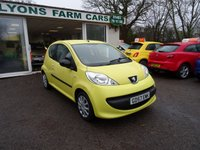 USED 2008 57 PEUGEOT 107 1.0 URBAN 2-TRONIC 3d AUTOMATIC 68 BHP Very Low Mileage! Two Previous Owners, Service History + Serviced by ourselves, Minimum 6 months MOT, Automatic, Great fuel economy! Only £20 Road Tax! Low Insurance Group!