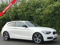 USED 2013 13 BMW 1 SERIES 2.0 116D SPORT 3d AUTO 114 BHP