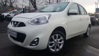 2013 NISSAN MICRA 1.2 ACENTA 5d AUTO 79BHP NEW SHAPE £5990.00