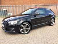 2011 AUDI A3 2.0 TDI S LINE SPECIAL EDITION 3d 138 BHP £6990.00