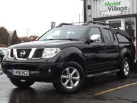 USED 2008 08 NISSAN NAVARA 2.5 AVENTURA DCI 4X4 SWB SHR D/C 1d AUTO 169 BHP .NO VAT ON THIS VEHICLE ONE FORMER KEEPER+ AUTO+ SATNAV