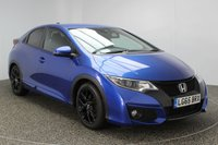 USED 2015 65 HONDA CIVIC 1.6 I-DTEC SPORT NAVI 5DR 118 BHP 1 OWNER FREE ROAD TAX SERVICE HISTORY + FREE 12 MONTHS ROAD TAX + SATELLITE NAVIGATION + REVERSE CAMERA + BLUETOOTH + PARKING SENSOR + CRUISE CONTROL + CLIMATE CONTROL + DAB RADIO + MULTI FUNCTION WHEEL + ELECTRIC WINDOWS + 17 INCH ALLOY WHEELS