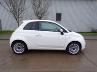 USED 2008 08 FIAT 500 1.4 SPORT 3d 99 BHP HALF LEATHER AIR CON PART EXCHANGE AVAILABLE / ALL CARDS / FINANCE AVAILABLE