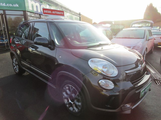 USED 2015 64 FIAT 500L 1.2 MULTIJET TREKKING DUALOGIC 5d AUTO 85 BHP CALL 01543 379066... 12 MONTHS MOT... 6 MONTHS WARRANTY... DIESEL.. FINANCE AVAILABLE... AUTOMATIC