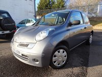 USED 2009 09 NISSAN MICRA 1.2 VISIA PLUS 3d AUTO 80 BHP 3 Months National Warranty - ONLY 33000mls - Service History ( Service and MOT at Sale).