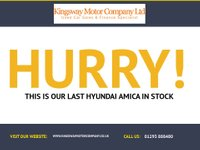USED 2001 HYUNDAI AMICA 1.0 GSI 5d AUTOMATIC *1 LADY OWNER FROM NEW* GUARANTEED TO BEAT ANY 'WE BUY ANY CAR' VALUATION ON YOUR PART EXCHANGE