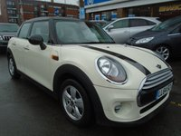USED 2014 64 MINI HATCH COOPER 1.5 COOPER 5d 134 BHP SAT NAV, ONLY 25,000 MILES