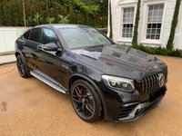 USED 2018 MERCEDES-BENZ GLC CLASS GLC 63 S AMG PREMIUM 4MATIC A COUPE