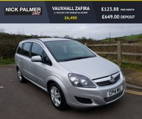 USED 2014 14 VAUXHALL ZAFIRA 1.7 EXCLUSIV CDTI ECOFLEX 5d 108 BHP POPULAR 7 SEATER WITH FULL VAUXHALL SERVICE HISTORY