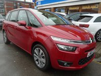 USED 2015 65 CITROEN C4 GRAND PICASSO 1.6 BLUEHDI SELECTION 5d 118 BHP 1 OWNER, ONLY 22,000 MILES