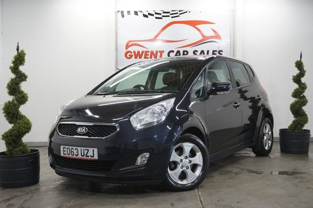 USED 2013 63 KIA VENGA 1.6 3 5d AUTO 123 BHP **HEATED SEATS,, LOW MILEAGE,, LONG MOT**