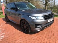 2015 LAND ROVER RANGE ROVER SPORT 3.0 SDV6 AUTOBIOGRAPHY DYNAMIC 5d AUTO 306 BHP £42990.00