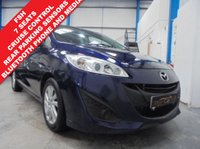 """USED 2012 12 MAZDA MAZDA 5 1.6 TS2 D 115PS 5d 113 BHP Full Service History, 7 Seats, Bluetooth Phone and Media Streaming, Rear Parking Sensors, Cruise Control, Air Conditioning, Auto Lights and Wipers, Xenons, Rear Picnic Tables, 16"""" Alloys"""