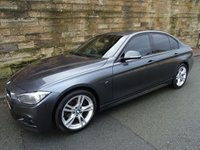 2013 BMW 3 SERIES 2.0 320D M SPORT 4d 181 BHP £8300.00