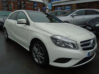 USED 2014 64 MERCEDES-BENZ A CLASS 1.5 A180 CDI BLUEEFFICIENCY SPORT 5d 109 BHP 1 OWNER, 47,000 MILES