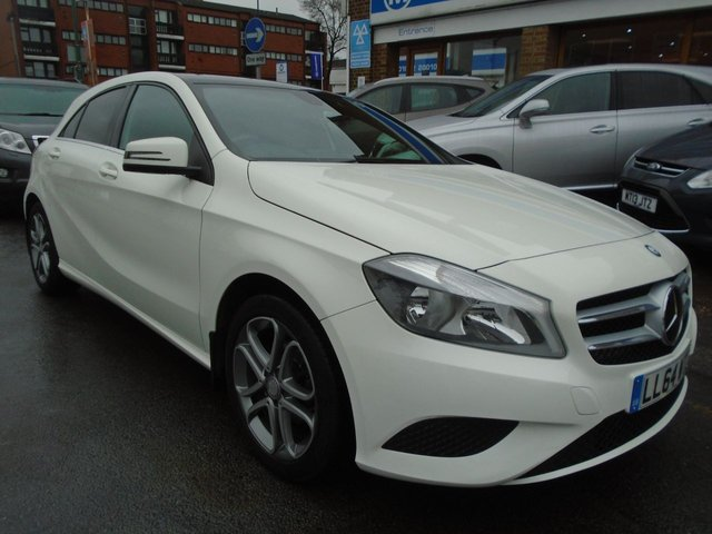 2014 64 MERCEDES-BENZ A CLASS 1.5 A180 CDI BLUEEFFICIENCY SPORT 5d 109 BHP