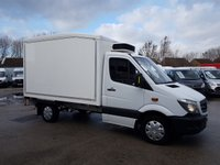 USED 2014 14 MERCEDES-BENZ SPRINTER FRIDGE BOX VAN 2014/14 REG (( AUTOMATIC )) ( BENZ AUTOMATIC FRIDGE BOX VANS )