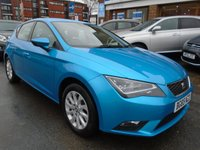 USED 2015 65 SEAT LEON 1.6 TDI SE TECHNOLOGY 5d 110 BHP 1 OWNER, SAT NAV