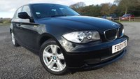 USED 2010 10 BMW 1 SERIES 2.0 116D SE 5d 114 BHP ALLOY-WHEELS, AIR-CONDITIONING, CD-PLAYER, REMOTE LOCKING, ELECTRIC WINDOWS, PARKING SENSORS, ELECTRIC MIRRORS, ECONOMICAL, STUNNING EXAMPLE