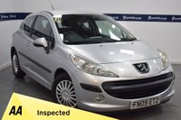 USED 2009 09 PEUGEOT 207 1.4 S HDI 3d 70 BHP (0NLY £30 ROAD TAX)