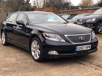 2007 LEXUS LS 5.0 600H L 4d 445 BHP £5900.00