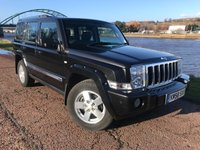 2008 JEEP COMMANDER 3.0 LIMITED CRD V6 5d 215 BHP £8990.00