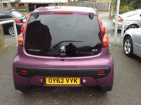 USED 2012 62 PEUGEOT 107 1.0 ALLURE 3d 68 BHP ALLOYS + LOVELY COLOUR