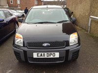 USED 2011 11 FORD FUSION 1.4 STYLE PLUS 5d 80 BHP ONE OWNER FROM NEW + FULL FORD SERVICE HISTORY