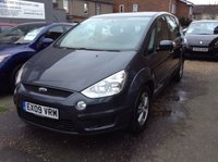USED 2009 09 FORD S-MAX 2.0 ZETEC TDCI 5d 143 BHP FULL SERVICE HISTORY