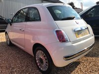 USED 2011 11 FIAT 500 0.9 LOUNGE 3d 85 BHP SUPERB FIRST TIME DRIVERS CAR: