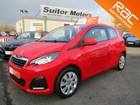USED 2016 PEUGEOT 108 1.0 ACTIVE 3d 68 BHP