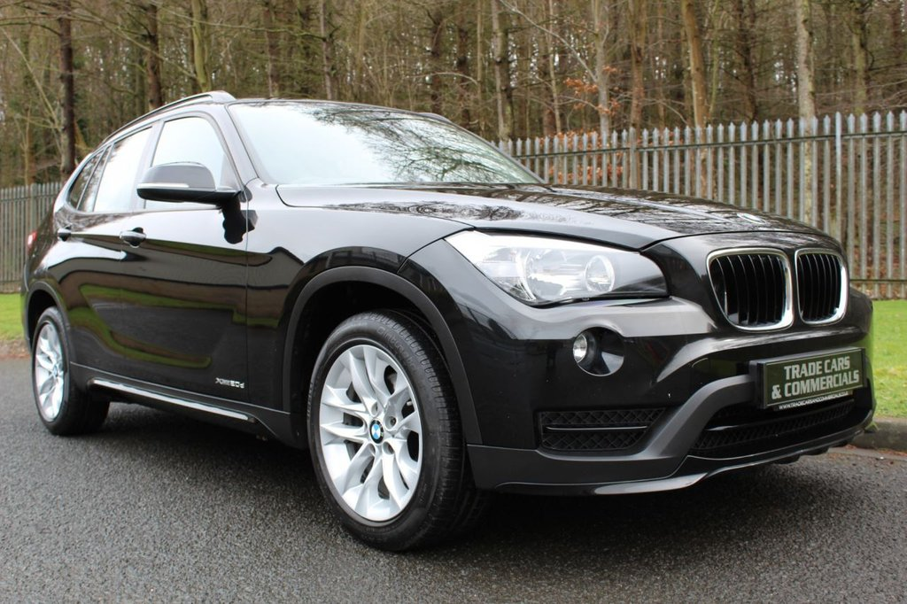USED 2014 14 BMW X1 2.0 XDRIVE20D SPORT 5d 181 BHP A LOVELY LOW OWNER EXAMPLE WITH BMW DEALER HISTORY!!!