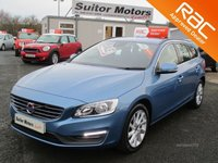 USED 2015 65 VOLVO V60 2.0 SE D2 AUTO ONLY 28,000 MILES, SERVICE HISTORY, RAC APPROVED