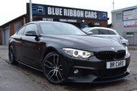 USED 2015 65 BMW 4 SERIES 3.0 435D XDRIVE M SPORT 2d AUTO 309 BHP FULLY LOADED, SUNROOF, M PERFORMANCE, PRO NAV, HK