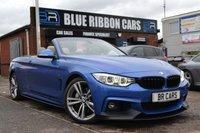 USED 2015 15 BMW 4 SERIES 3.0 435I M SPORT 2d AUTO 302 BHP M PERFORMANCE, HUGE SPEC, HEATED STEERING, PRO NAV, LED LIGHTS