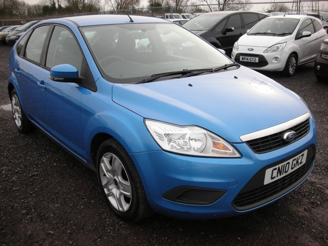 2010 10 FORD FOCUS 1.6 STYLE TDCI 5d 107 BHP