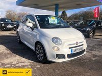 USED 2015 15 FIAT 500 1.2 S 3d 69 BHP NEED FINANCE? WE CAN HELP!