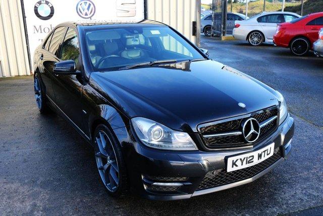2012 12 MERCEDES-BENZ C CLASS C220 CDI BLUEEFFICIENCY SPORT AUTO 168 BHP (Finance & Warranty)