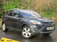 USED 2010 60 FORD KUGA 2.0 TITANIUM TDCI AWD 5d AUTO 163 BHP FULL TOUCH SCREEN SATELLITE NAVIGATION