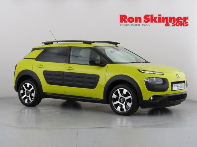 View our 2016 65 CITROEN C4 CACTUS 1.2 PURETECH FLAIR S/S 5d 109 BHP