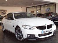 USED 2015 15 BMW 4 SERIES 2.0 420D XDRIVE M SPORT 2d AUTO 188 BHP M PERFROMANCE STYLING+X-DRIVE