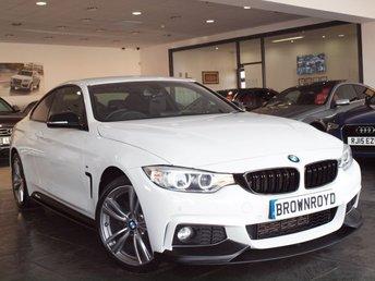 2015 BMW 4 SERIES 2.0 420D XDRIVE M SPORT 2d AUTO 188 BHP £17990.00