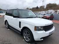 USED 2011 11 LAND ROVER RANGE ROVER 4.4 TDV8 VOGUE 5d 313 BHP Fuji White with Black roof, Black Exterior Pack & Leather, low miles