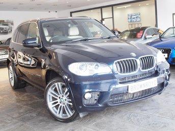 2012 BMW X5 3.0 XDRIVE30D M SPORT 5d 241 BHP £17490.00