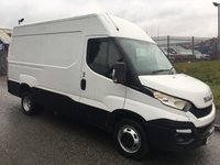 2015 IVECO DAILY 3.0 35C15V 1d 146 BHP TWIN REAR WHEEL MWB HIGH ROOF 2015 £9950.00