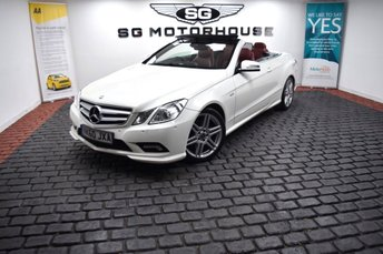 2010 MERCEDES-BENZ E CLASS 3.0 E350 CDI BlueEFFICIENCY Sport Cabriolet 2dr £12365.00
