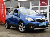 USED 2016 16 VAUXHALL MOKKA 1.6 TECH LINE CDTI ECOFLEX S/S 5d 134 BHP STUNNING, 1 OWNER, £20 ROAD TAX, LOW MILEAGE, VAUXHALL MOKKA, 1.6 CDTI TECH LINE, ECOFLEX. Finished in BORACAY BLUE metallic, with contrasting DARK GREY trim. This very popular small SUV is one our best sellers in its class. Features include Sat Nav, DAB, B/Tooth, Front and Rear Park Sensors, Alloys and with its new 1.6 engine ONLY £20 ROAD TAX and still pumping out 140 BHP.
