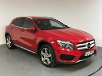 USED 2016 65 MERCEDES-BENZ GLA-CLASS 2.1 GLA 200 D AMG LINE 5d AUTO 134 BHP SERVICE HISTORY - ONE OWNER - SAT NAV - HALF LEATHER - REAR CAMERA - BLUETOOTH - AIR CON - USB