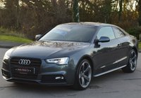 USED 2014 64 AUDI A5 2.0 TDI S LINE BLACK EDITION 2d AUTO 177 BHP * SAT NAV * * PCP FINANCE AVAILABLE *