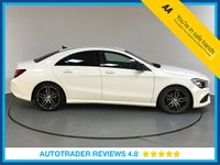 USED 2016 66 MERCEDES-BENZ CLA 2.1 CLA 220 D 4MATIC AMG LINE 4d AUTO 174 BHP FULL MERCEDES HISTORY - 1 OWNER - HALF LEATHER - PARKING SENSORS - BLUETOOTH - AIR CON - USB